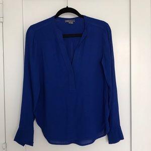 Vince cobalt blue shirt